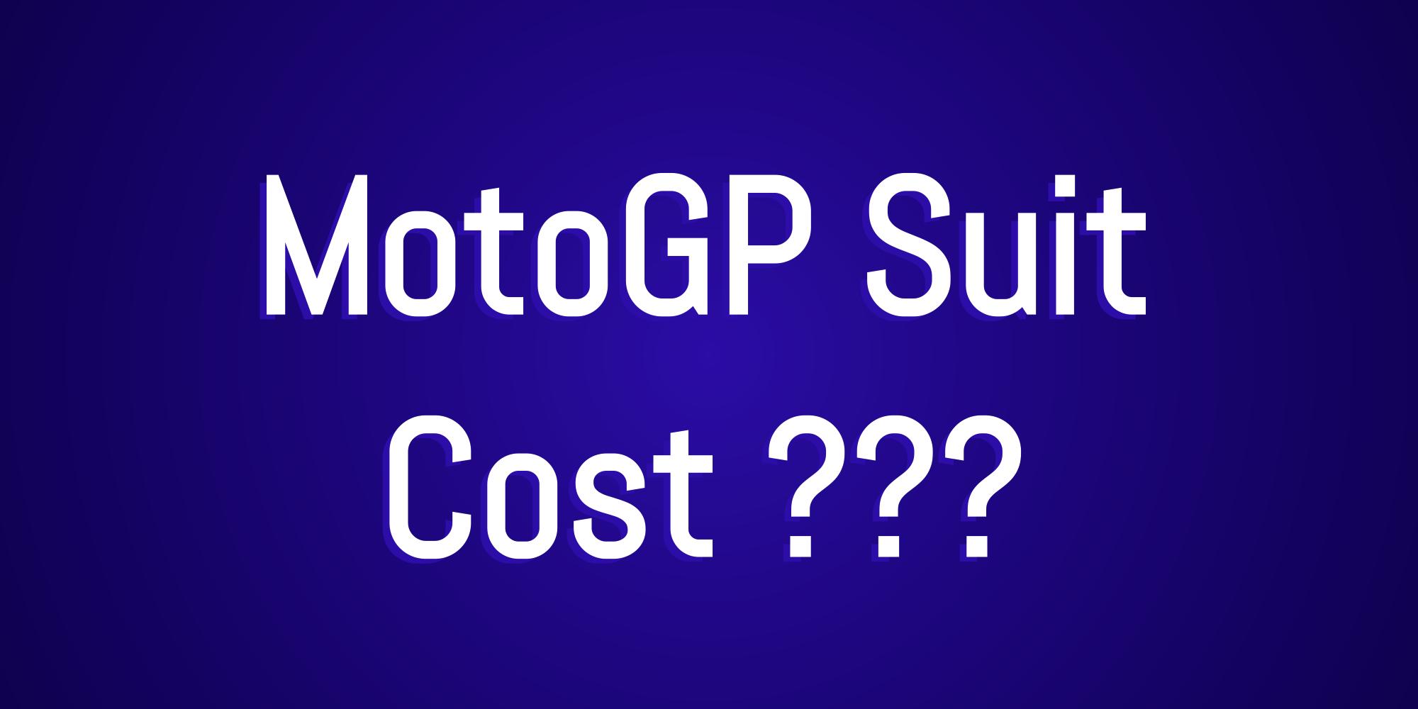 motogp-suit-cost