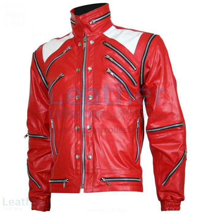 Michael Jackson Beat It Leder Jacke front